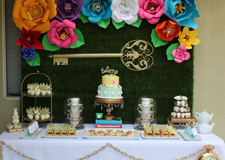 photo gallery alice in wonderland theme party pro